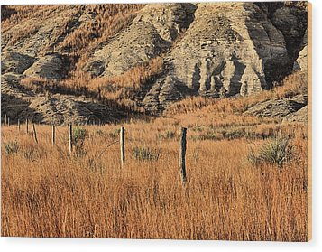 Wood Print featuring the photograph This Is Kansas by JC Findley