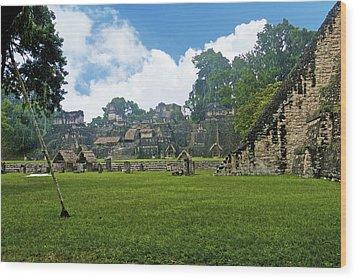 Tikal, Guatemala Wood Print