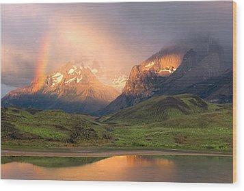 Torres Del Paine - Patagonia Wood Print