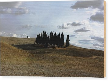 Toscana Wood Print by Pat Purdy