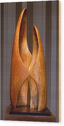 Touching Wood Print by Robert Hartl