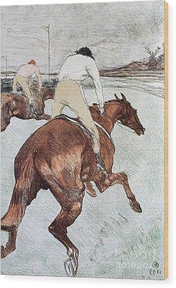 Toulouse-lautrec, 1899 Wood Print by Granger
