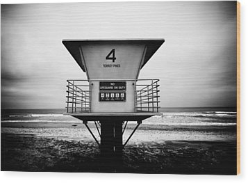 Tower 4 Wood Print by Tanya Harrison