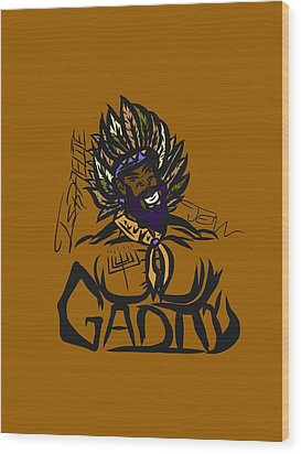 Tribe Of Gad Wood Print