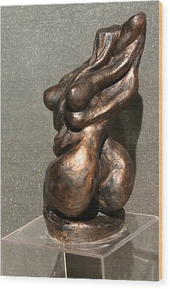Twist Of Fate The Dancer Wood Print by Dan Earle