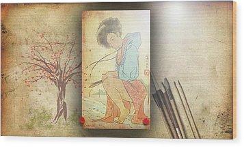 Ukyo-e Soul Wood Print