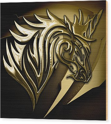 Unicorn Collection Wood Print