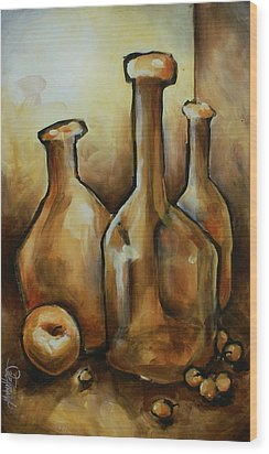 Untitled Wood Print by Michael Lang
