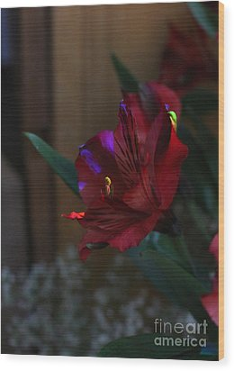 Wood Print featuring the photograph Waiting For You by Marie Neder