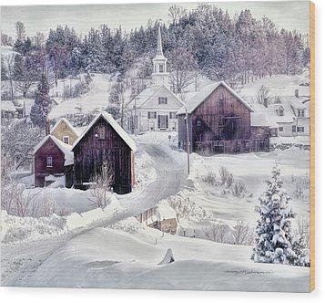 Waits River, Vt Wood Print