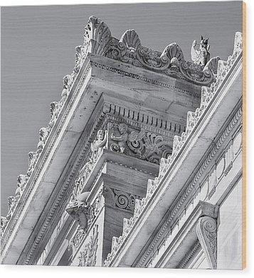 Washington Dc Architecture Wood Print