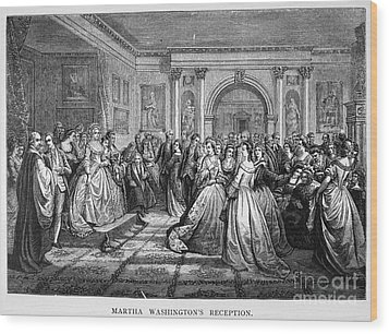 Washington Reception Wood Print by Granger