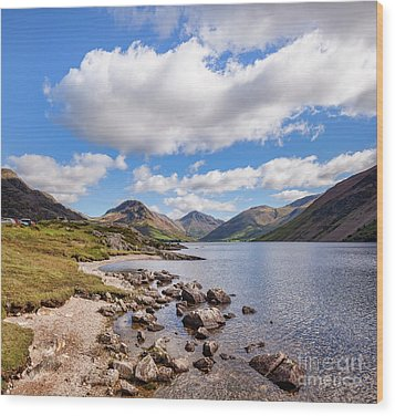Wood Print featuring the photograph Wastwater by Colin and Linda McKie