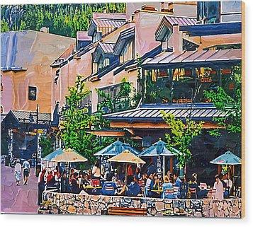 Whistler Wood Print by Dale Stillman