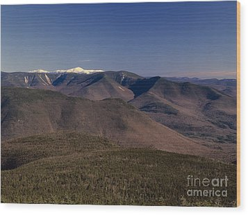 White Mountains Nh Usa Wood Print by Erin Paul Donovan
