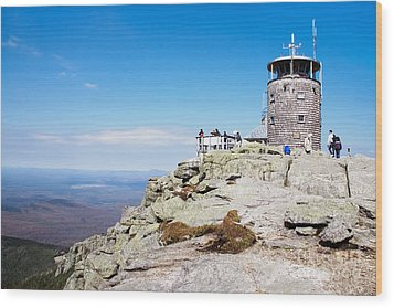 Whiteface Mtn. Tower Lookout Wood Print