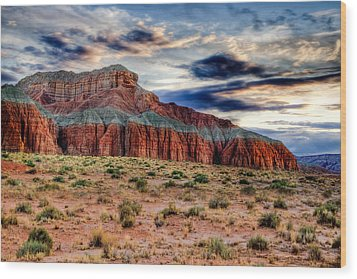 Wild Horse Mesa Wood Print by Utah Images