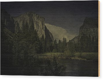Wood Print featuring the photograph Yosemite National Park by Ryan Photography