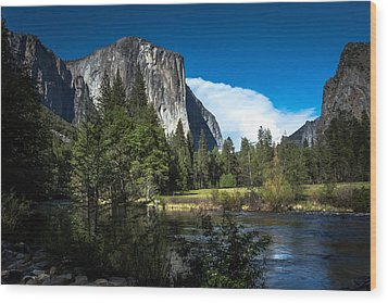 Wood Print featuring the photograph Yosemite by Ryan Photography