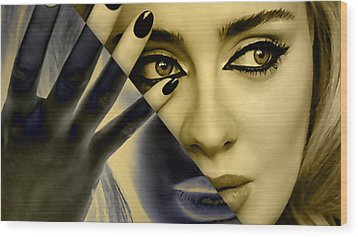 Adele Collection Wood Print