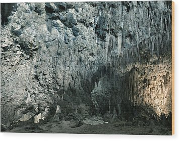 Carlsbad Caverns Wood Print by Stephen  Vecchiotti