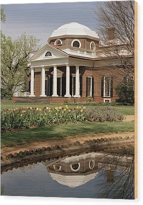 Monticello, The Home Built By Thomas Wood Print by Everett