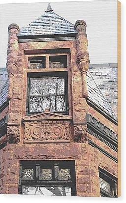 Window Series Wood Print by Ginger Geftakys