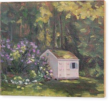 101 Blooms Wood Print