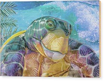 10730 Mr Tortoise Wood Print