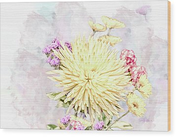 10865 Spring Bouquet Wood Print