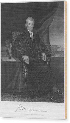 John Marshall (1755-1835) Wood Print by Granger