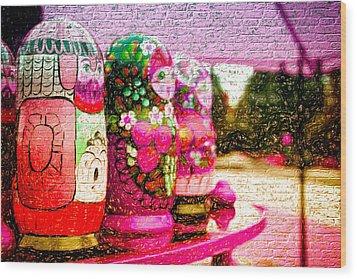 Russian Matrushka Dolls Wall Art Wood Print