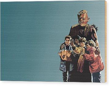 112. Never Say Die Wood Print by Tam Hazlewood
