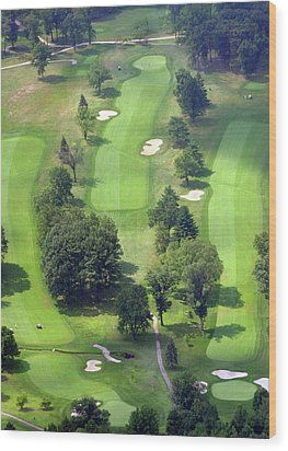 11th Hole Sunnybrook Golf Club 398 Stenton Avenue Plymouth Meeting Pa 19462 1243 Wood Print by Duncan Pearson