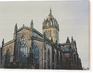 Edinburgh Wood Print