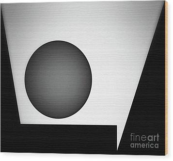 Wood Print featuring the digital art 1207 2017 by John Krakora