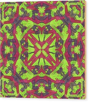 Puzzle Soup -pattern- Wood Print