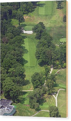 12th Hole Sunnybrook Golf Club 398 Stenton Avenue Plymouth Meeting Pa 19462 1243 Wood Print by Duncan Pearson