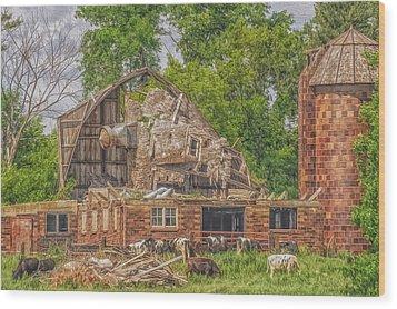 Barn Wood Print by Dan Traun
