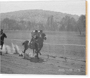The Montpelier Hunt Races Wood Print