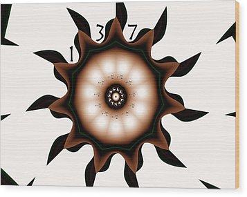 137 Wood Print