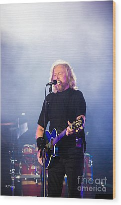 Barry Gibb Wood Print