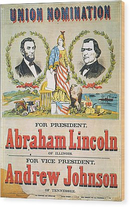 Presidential Campaign, 1864 Wood Print by Granger