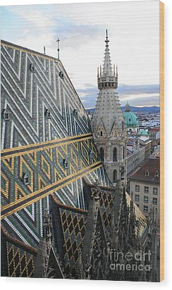 St Stephens Cathedral Vienna Wood Print