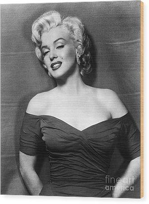 Marilyn Monroe (1926-1962) Wood Print