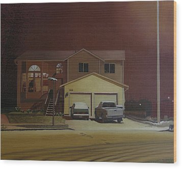 15698 168th Ave. S.e. Wood Print by Thu Nguyen