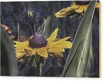 Thinking Of Vincent Van Gogh Wood Print