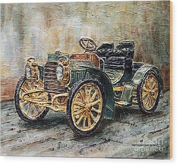 1901 Mercedes Benz Wood Print