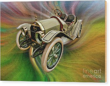 1912 Moon 30 Raceabout Wood Print