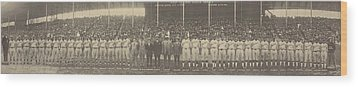 1924 Negro League World Series. Players Wood Print by Everett